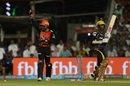 Wriddhiman Saha appeals for a stumping against Sunil Narine, Kolkata Knight Riders v Sunrisers Hyderabad, IPL 2018, Kolkata, April 14, 2018