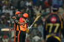 Yusuf Pathan and Deepak Hooda celebrate Sunrisers Hyderabad's win, Kolkata Knight Riders v Sunrisers Hyderabad, IPL 2018, Kolkata, April 14, 2018