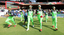 Virat Kohli, AB de Villiers, Washington Sundar and Mandeep Singh take the field for RCB, Royal Challengers Bangalore v Rajasthan Royals, IPL 2018, Bengaluru, April 15, 2018