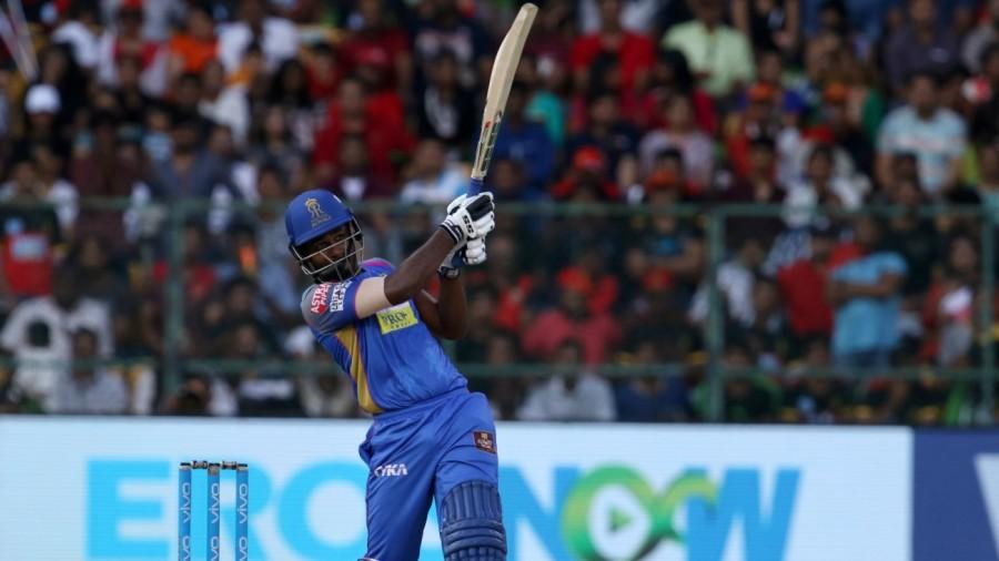 Sanju Samson struck 10 sixes in his 92