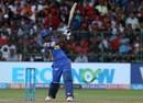 Sanju Samson struck 10 sixes in his 92, Royal Challengers Bangalore v Rajasthan Royals, IPL 2018, Bengaluru, April 15, 2018