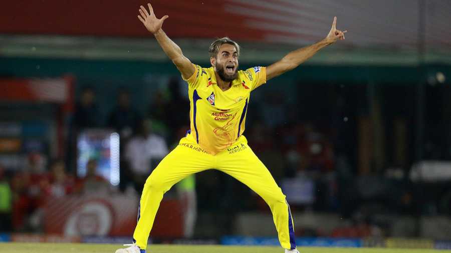 Imran Tahir doesn't hold back while appealing