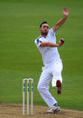 Kyle Abbott bowls for Hampshire, Hampshire v Essex, Ageas Bowl, September 21, 2017