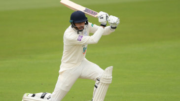 James Vince made 75 in difficult batting conditions