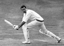 Colin Bland in action during South Africa's tour of England in 1965, Lord's