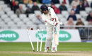 Steven Croft was cleaned up by Jake Ball, County Championship, Division One, Old Trafford, 4th day, April 16, 2018