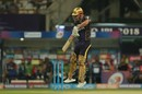 Chris Lynn's feet are off the ground while dabbing, Kolkata Knight Riders v Delhi Daredevils, IPL 2018, April 16, 2018, Kolkata
