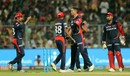 Trent Boult had Andre Russell bowled, Kolkata Knight Riders v Delhi Daredevils, IPL 2018, April 16, 2018, Kolkata