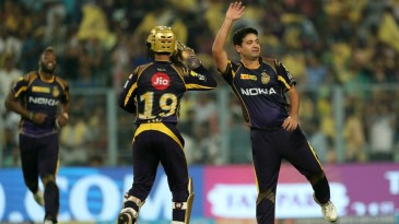 Piyush Chawla had Jason Roy stumped in the first over