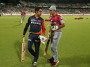 Gautam Gambhir and Ricky Ponting at pre-match training, Kolkata Knight Riders v Delhi Daredevils, IPL 2018, April 16, 2018, Kolkata