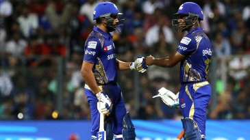 Rohit Sharma and Evin Lewis set a strong platform for Mumbai