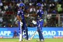 Rohit Sharma and Evin Lewis set a strong platform for Mumbai, Mumbai Indians v Royal Challengers Bangalore, IPL 2018, Mumbai, April 17, 2018