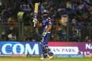 Rohit Sharma brought up a 32-ball fifty, Mumbai Indians v Royal Challengers Bangalore, IPL 2018, Mumbai, April 17, 2018