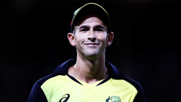 Ashton Agar smiles