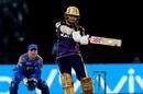 Sunil Narine slashes one, Rajasthan Royals v Kolkata Knight Riders, IPL 2018, Jaipur, April 18, 2018