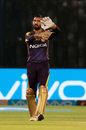 Dinesh Karthik adjusts the field, Rajasthan Royals v Kolkata Knight Riders, IPL 2018, Jaipur, April 18, 2018