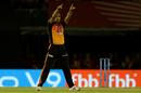 Siddarth Kaul is stoked upon removing Mayank Agarwal, Kings XI Punjab v Sunrisers Hyderabad, IPL 2018, Mohali, April 19, 2018