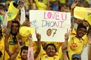 MS Dhoni found plenty of support in Pune, Chennai Super Kings v Rajasthan Royals, IPL 2018, Pune, April 20, 2018