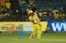 Shane Watson hits over the top, Chennai Super Kings v Rajasthan Royals, IPL 2018, Pune, April 20, 2018