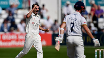 Graham Onions celebrates removing James Foster