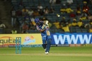 Ajinkya Rahane kickstarted the chase with a straight six, Chennai Super Kings v Rajasthan Royals, IPL 2018, Pune, April 20, 2018