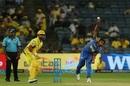 Shreyas Gopal sends one down, Chennai Super Kings v Rajasthan Royals, IPL 2018, Pune, April 20, 2018