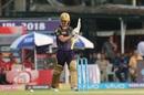 Chris Lynn brought up a 30-ball 50, Kolkata Knight Riders v Kings XI Punjab, IPL 2018, Kolkata, April 21, 2018