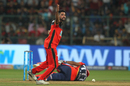 Mohammed Siraj unsuccessfully appeals for the wicket of Rishabh Pant, Royal Challengers Bangalore v Delhi Daredevils, IPL 2018, Bengaluru, April 21, 2018