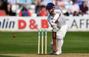 James Foster gets forward, Essex v Lancashire, Specsavers Championship, Division One, Chelmsford, 1st day, April 20, 2018