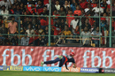 Trent Boult took a one-handed stunner near the boundary rope to send back Virat Kohli, Royal Challengers Bangalore v Delhi Daredevils, IPL 2018, Bengaluru, April 21, 2018