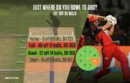AB de Villiers targeted the midwicket region during his blistering knock
