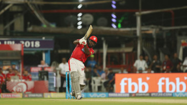 Chris Gayle has hit more than ten sixes an innings in the IPL four times