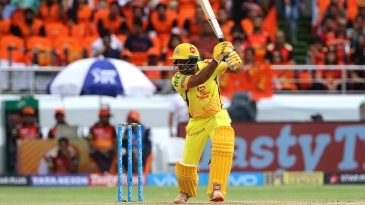 Ambati Rayudu led CSK's recovery with a belligerent half-century