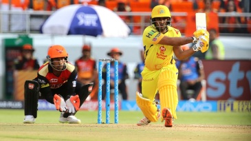 Ambati Rayudu brought out a wide array of strokes
