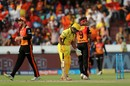 Ambati Rayudu was run-out in bizarre fashion, Sunrisers Hyderabad v Chennai Super Kings, IPL 2018, Hyderabad, April 22, 2018