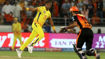 Dwayne Bravo bowled a flurry of yorkers in the death overs