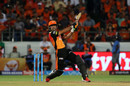 Rashid Khan struck a six on the first ball he faced, Sunrisers Hyderabad v Chennai Super Kings, IPL 2018, Hyderabad, April 22, 2018