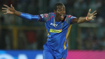 Jofra Archer makes an appeal