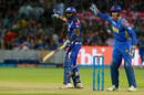 Suryakumar Yadav and Jos Buttler strike a similar pose for two contrasting reasons, Rajasthan Royals v Mumbai Indians, IPL 2018, Jaipur, April 22, 2018