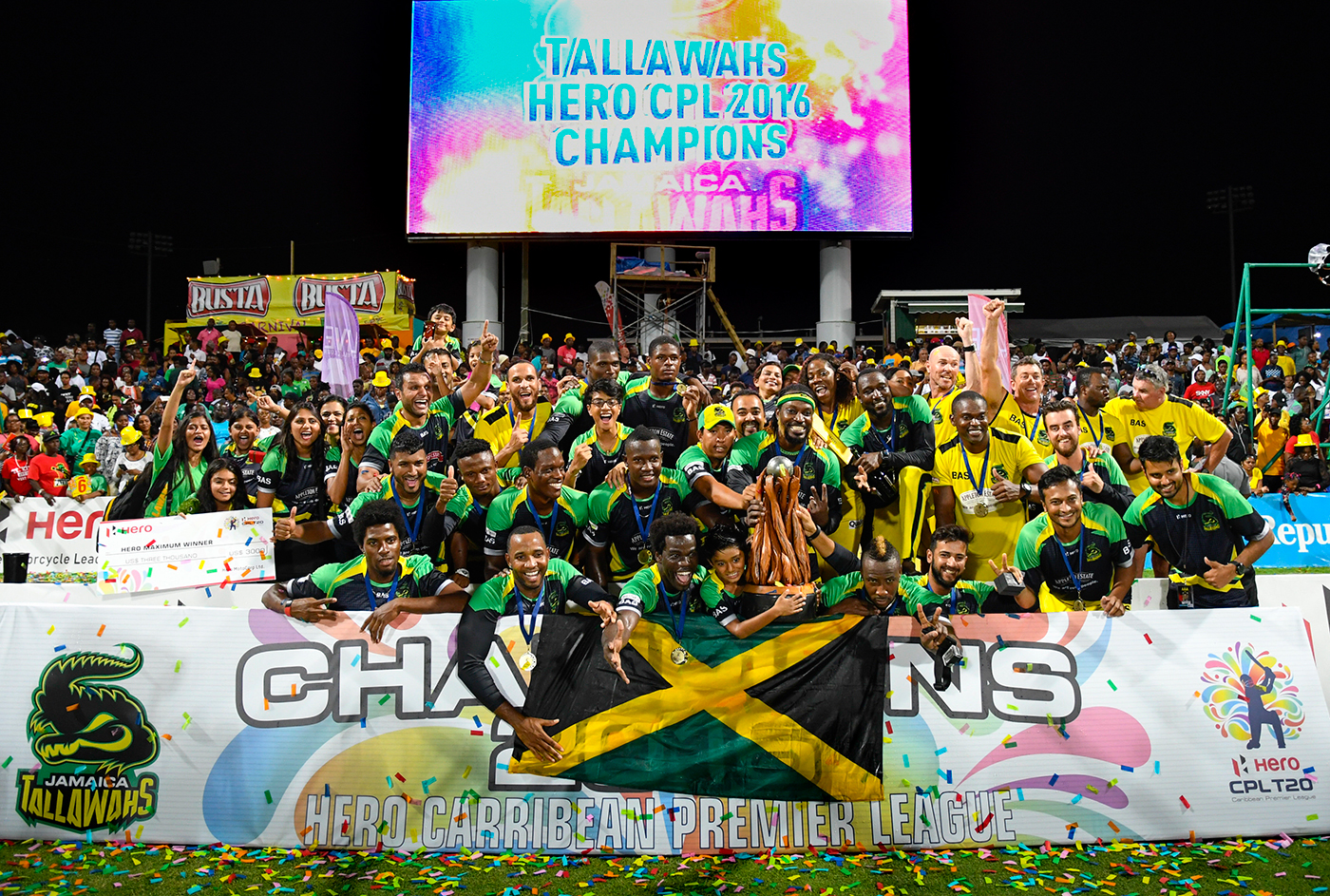 Jamaica Tallawahs enjoy their moment of triumph