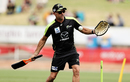 Sydney Thunder coach Paddy Upton hits a ball, Melbourne Stars v Sydney Thunder, Border Bash, Albury, December 13, 2016
