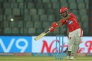 KL Rahul slaps through the off side, Delhi Daredevils v Kings XI Punjab, IPL 2018, Delhi, April 23, 2018