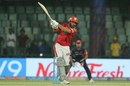 Yuvraj Singh fails to time the ball, Delhi Daredevils v Kings XI Punjab, IPL 2018, Delhi, April 23, 2018