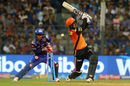 Mohammad Nabi's first outing this season was brief, Mumbai Indians v Sunrisers Hyderabad, IPL, April 24, 2018