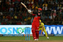 Quinton de Kock was quick to pounce on the pull, Royal Challengers Bangalore v Chennai Super Kings, IPL, April 25, 2018