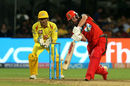 AB de Villiers is a picture of poise as he lofts inside-out over long-off, Royal Challengers Bangalore v Chennai Super Kings, IPL, April 25, 2018