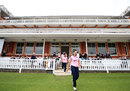 Natasha Miles leads Middlesex onto Lord's, Middlesex Women v MCC, Lord's, April 24, 2018