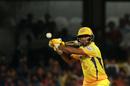 Ambati Rayudu lines up to play a shot, Royal Challengers Bangalore v Chennai Super Kings, IPL, April 25, 2018