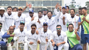 South Zone celebrate winning their third BCL title