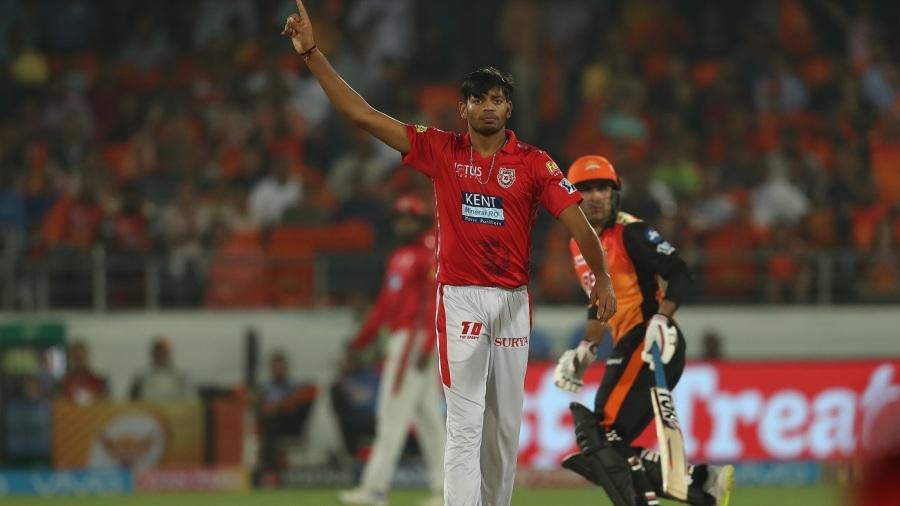 Ankit Rajpoot picked his career-best figures